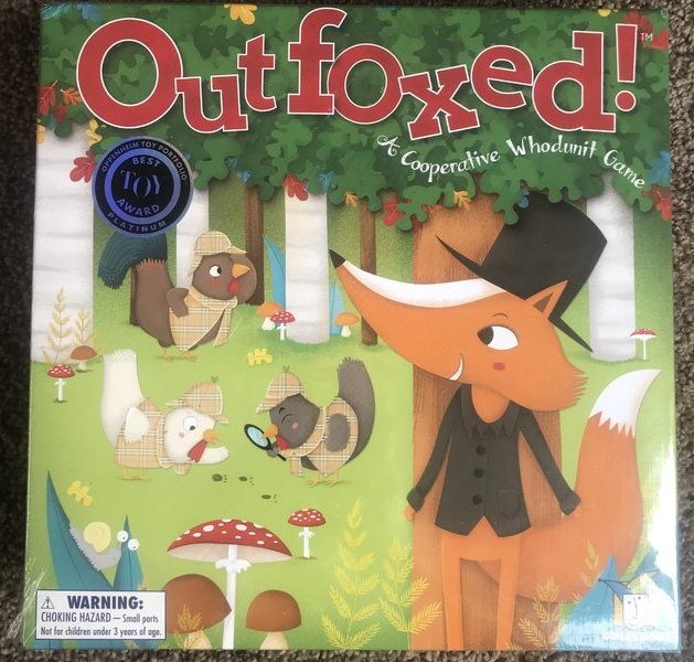 G069: Outfoxed - cooperative game of deduction