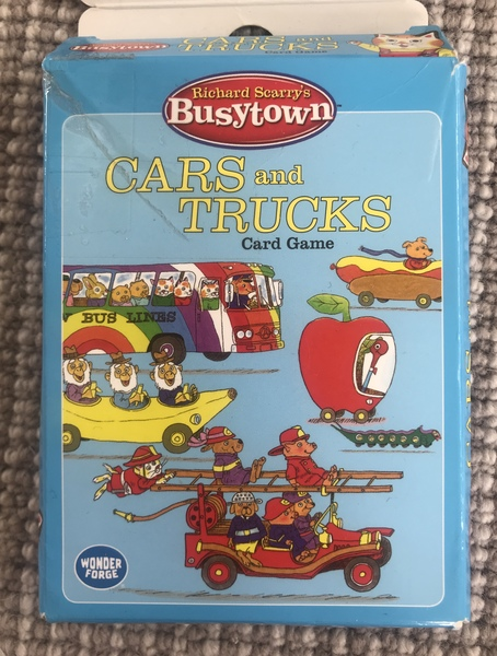 G002: Cars and Trucks card game