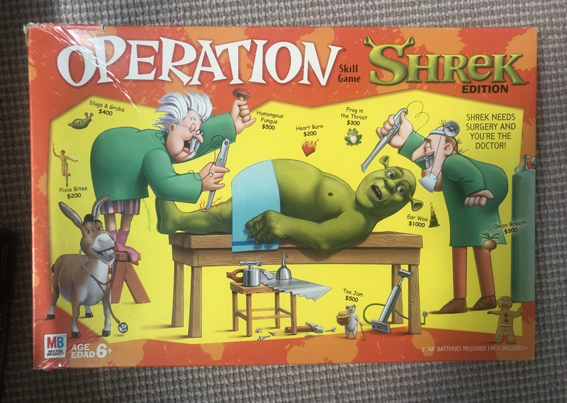 G006: Operation - Shrek