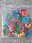 G031: Magnetic letters