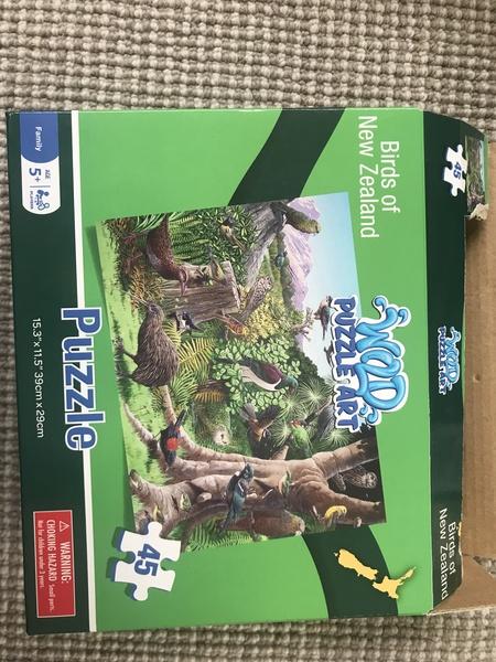 P011: Birds of NZ puzzle