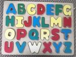P015: Alphabet wooden puzzle