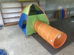 O001: Tent and tunnel