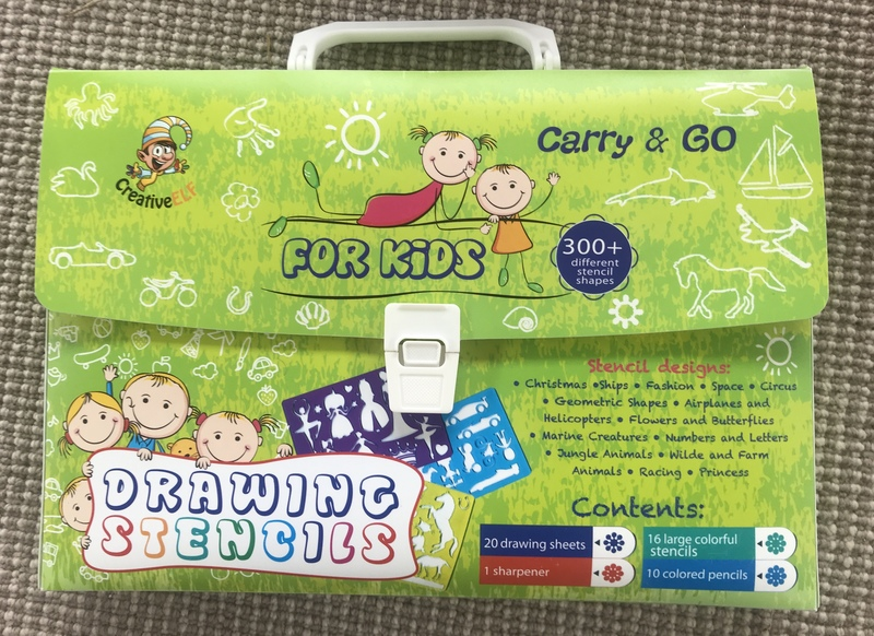 G033: Stencils in carry case