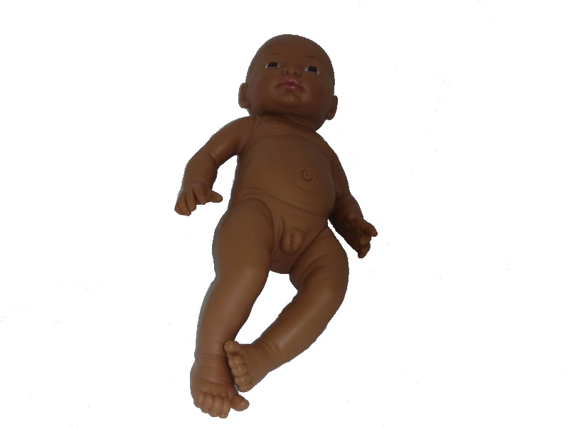 E4356: Male African baby doll