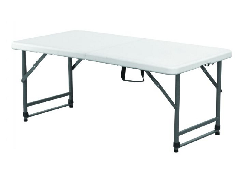 RES28: Childrens Portable Fold Up Blow Mould Trestle Table