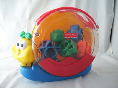 C2031: Fisher Price Sorter Snail