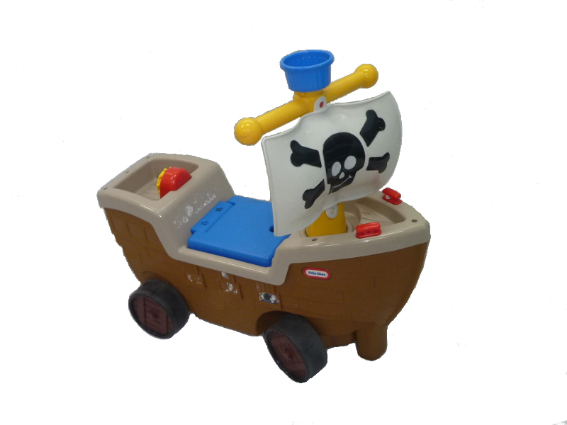 A0134: Little Tikes Play and Scoot Pirate Ship