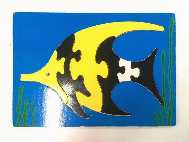 J809: Fish Puzzle