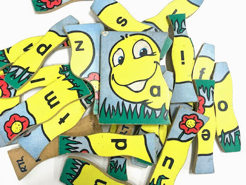J941: Caterpillar Alphabet Puzzle
