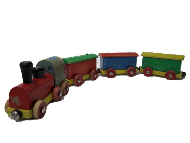 E5140: Hero Magnetic Train Set