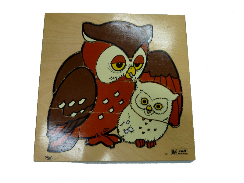 J8429: Mother & baby Owl Puzzle