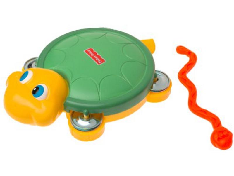 F6040: Fisher Price Turtle Tambourine