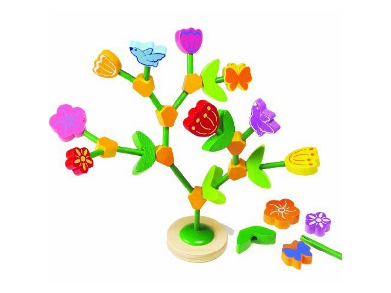 C3219: Flower and Tree Building