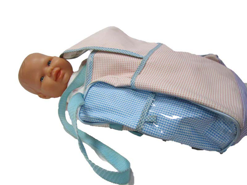 E43112: Baby Doll and Nappy Bag