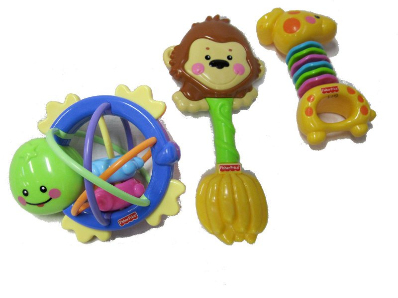 B156: Fisher Price Rattles