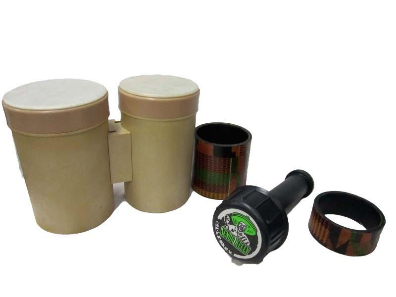 F6037: Bongo Drum and Shaker