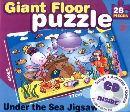 J8915: Giant Floor Puzzle / Uner the Sea