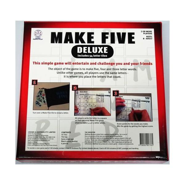D381: Make 5 Delux - Game