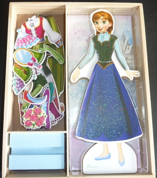 J879: Frozen magnetic Dress Puzzle