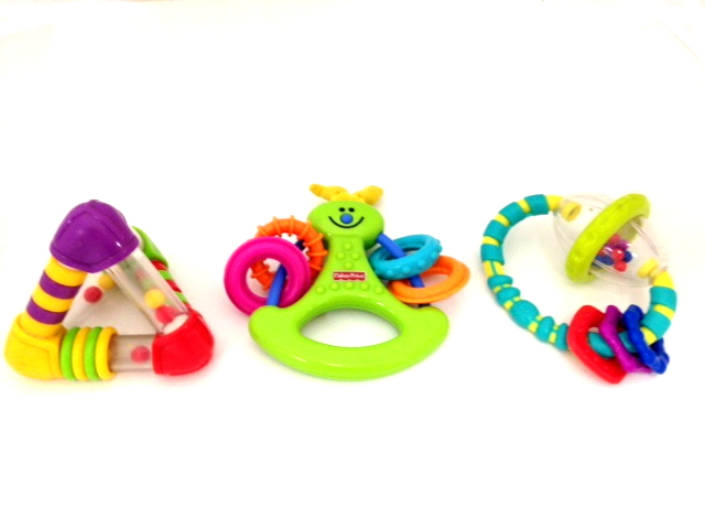 A1: Assorted rattles