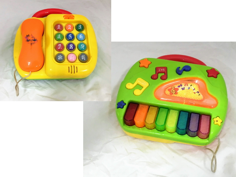 B1014: 2-in-1 piano and phone