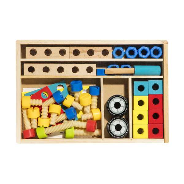 C3227: Wooden Building and Construction Set