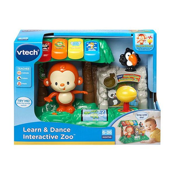 B1717: Learn and dance interactive zoo