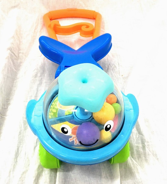 A013: Push Along Popper - Fisher Price