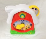 B1720: Bilingual clock (Spanish-English)