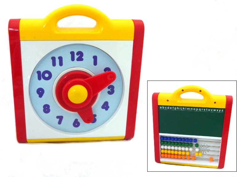 D373: Clock abacus activity center