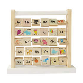 D385: Alphabet teaching frame