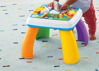 B123: Activity table-Smart stages Fisher Price
