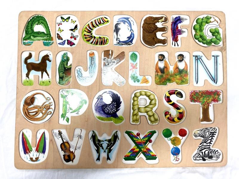 J853: Alphabet Art Puzzle