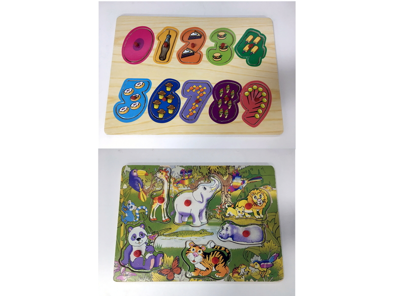 J904: Numbers and Animals Puzzle