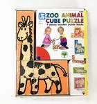 J9514: Zoo Animal Cube Puzzle