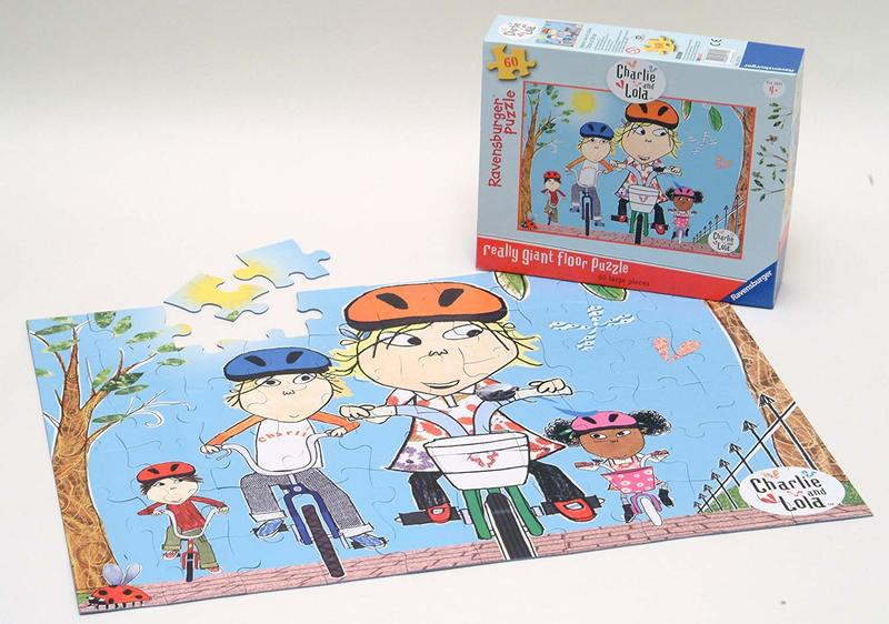 J907: Charlie and Lola Floor Puzzle