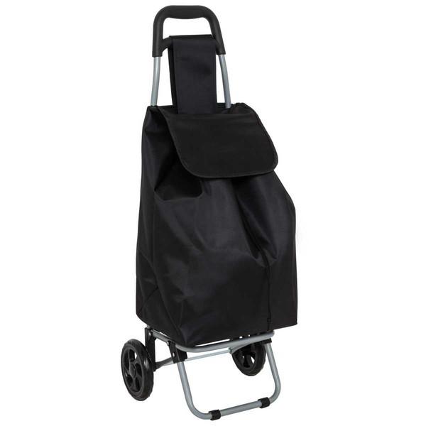E539: Black Shopping Trolley Bag