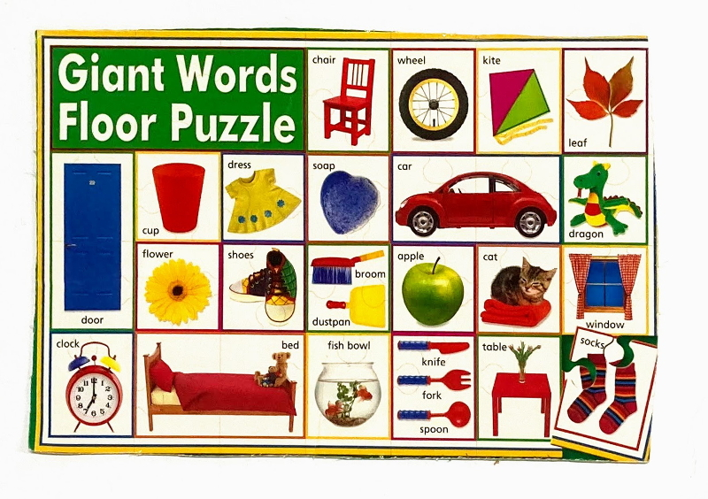 J899: Giant Words Floor Puzzle