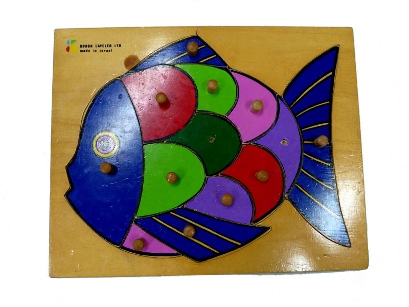 J8829: Fish scale Puzzle