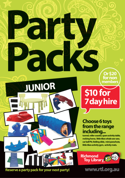 RES5: Junior Party Pack