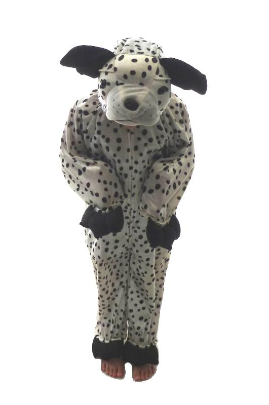 E4114: Dalmation Dog DressUp - Medium