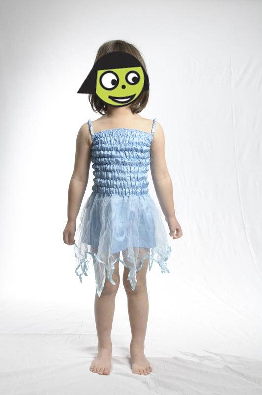 E4118: Blue Fairy Dress
