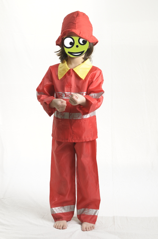 E4126: Fire Fighter Dress Up