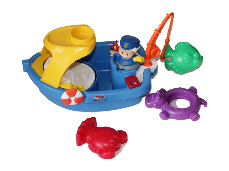 E4610: Fisher Price Boat