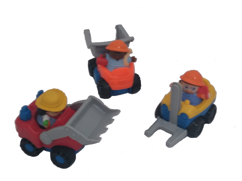 E4817: Little People Construction Vehicles