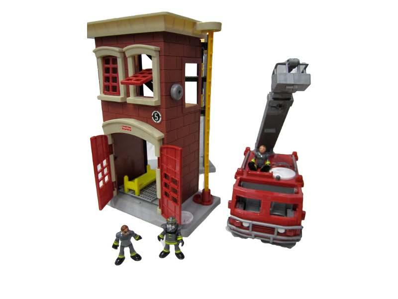E505: Imaginext Fire Station