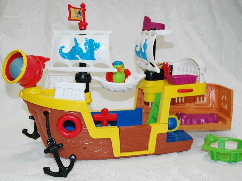 E533: Little People Pirate Ship