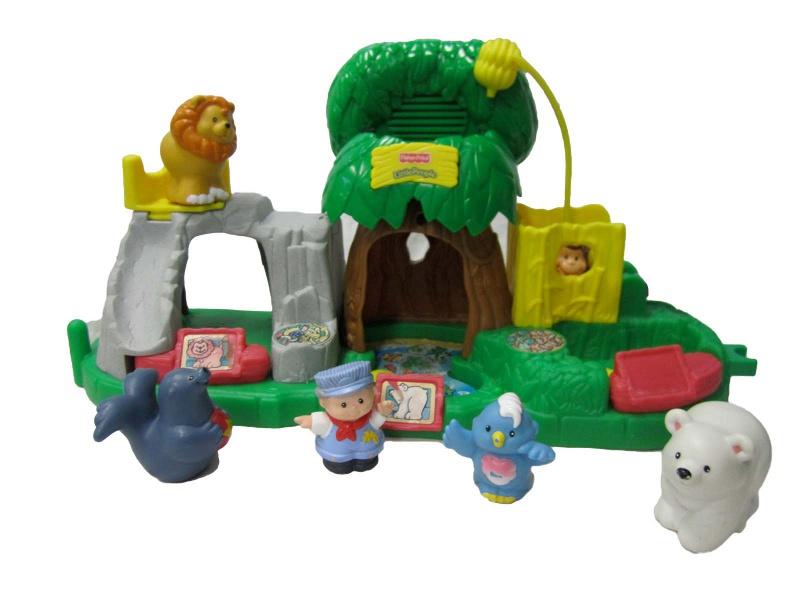 E537: FP Little People zoo