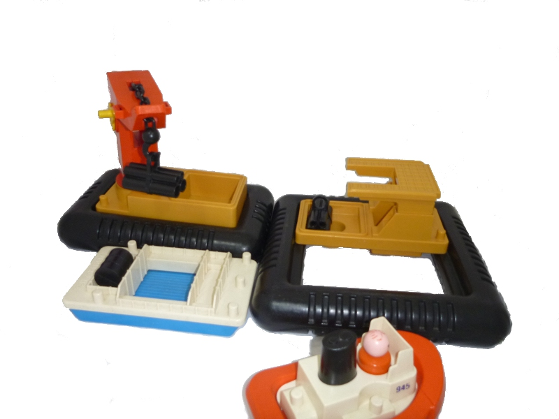 E53105: Fisher Price Barge Set